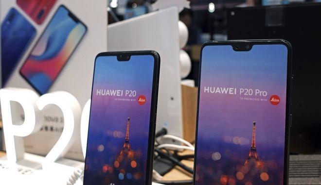 Κινητά τηλέφωνα της Huawei