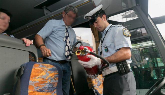 Μόνο μέσα σε 48ωρες: Βεβαιώθηκαν 263 παραβάσεις σε σχολικά λεωφορεία