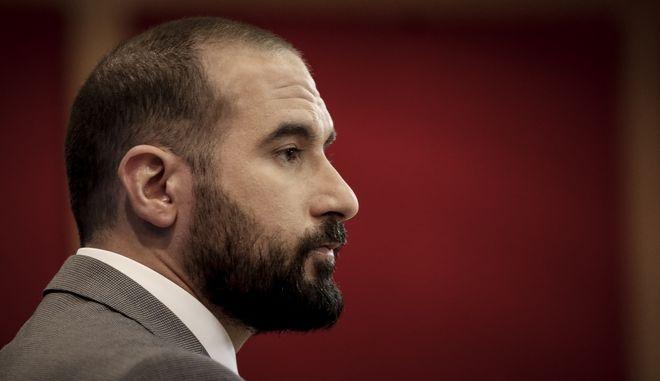 Ο κυβερνητικός εκπρόσωπος και υπουργός Επικρατείας, Δημήτρης Τζανακόπουλος