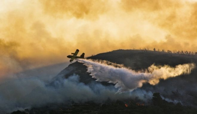 Φωτιά στην Κέρκυρα