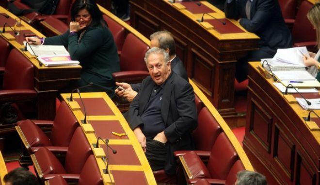Στιγμιότυπα από την συζήτηση για την κύρωση του Προϋπολογισμού του 2013 στην Βουλή. (EUROKINISSI)