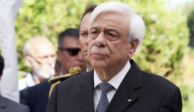 Ο Πρόεδρος της Δημοκρατίας, Π.Παυλόπουλος