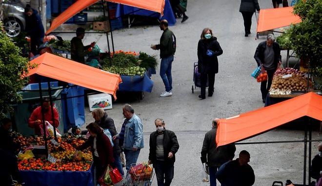 Λαϊκές αγορές: Θα είναι ανοιχτές και το ερχόμενο Σάββατο - Όχι σε κόφτη στα SMS