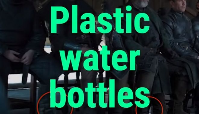 Game of Thrones: Νέα επική γκάφα - Ξέχασαν μπουκάλια νερού