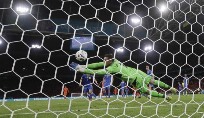 Εικόνα από τον αγώνα Ολλανδία-Ουκρανία στο Euro 2020