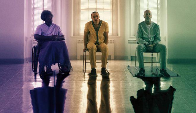 """Ο Μ. Νάιτ Σιάμαλαν ολοκληρώνει την απρόσμενη τριλογία μιας καριέρας με το """"Glass"""""""