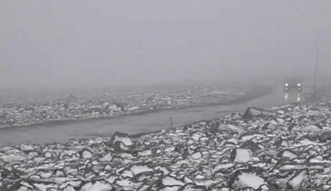 Νορβηγία: Χιόνισε Ιούλη μήνα