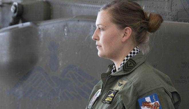 Όλγα Τσακνάκη: Μια γυναίκα στη 'φωλιά' των Apache