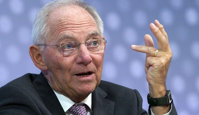O πρόεδρος της γερμανικής Ομοσπονδιακής βουλής και πρώην υπουργός Οικονομικών, Βόλφγκανγκ Σόιμπλε