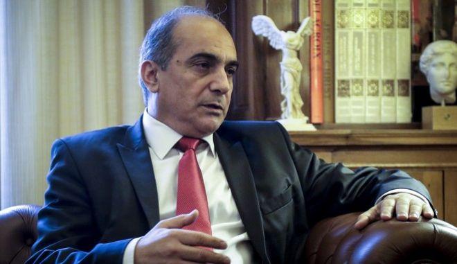 Ο πρόεδρος της Κυπριακής Δημοκρατίας Δημήτρης Συλλούρης