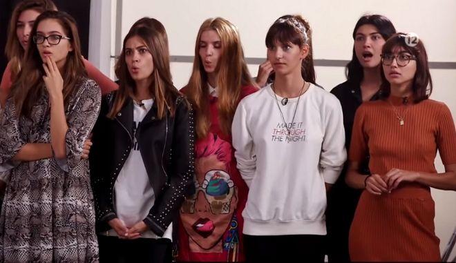 Τα κορίτσια του GNTM 2