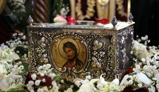 Άργος: Υποδοχή του ιερού λειψάνου του Ιωάννη του Προδρόμου