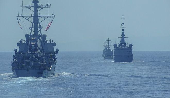 Πολεμικά πλοία.