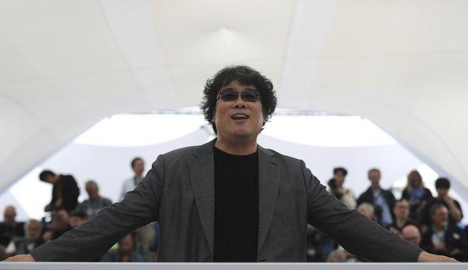 Ο σκηνοθέτης Μπονγκ Τζουν-χο στο 72ο φεστιβάλ Καννών