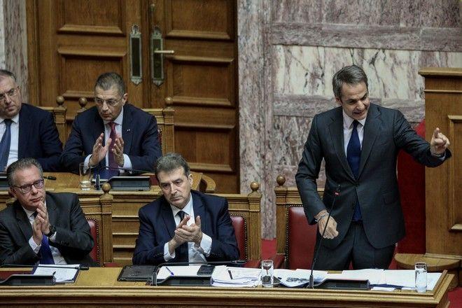 Συζήτηση στην ολομέλεια της βουλής του Ν/Σ του Υπ.Προστασίας του πολίτη