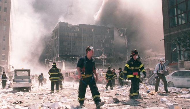 Πυροσβέστες στην Νέα Υόρκη την 9/11