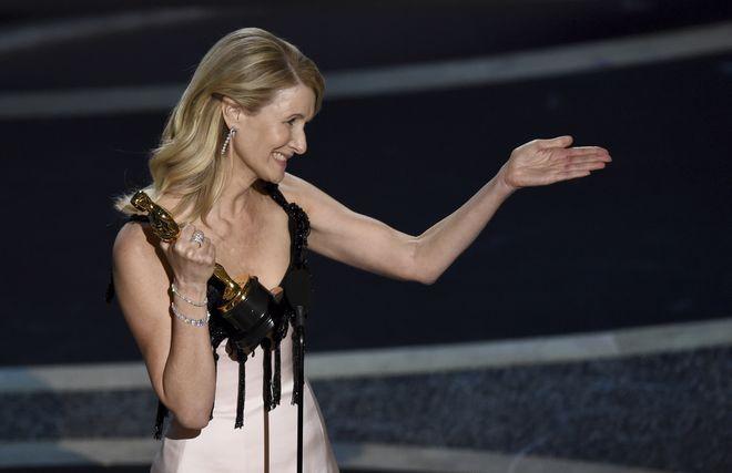 Η Laura Dern πήρε το βραβείο Β' Γυναικείου Ρόλου