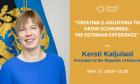 Στο Orange Grove η Πρόεδρος της Εσθονίας