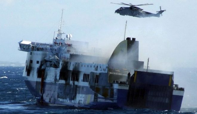 Norman Atlantic: Θρίλερ με τη διασταύρωση στοιχείων. Οι Ιταλοί δεν δίνουν τις λίστες των διασωθέντων