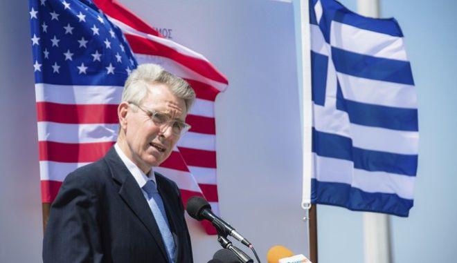 Ο υπουργός Ενέργειας των ΗΠΑ, Τζέφρι Πάιατ