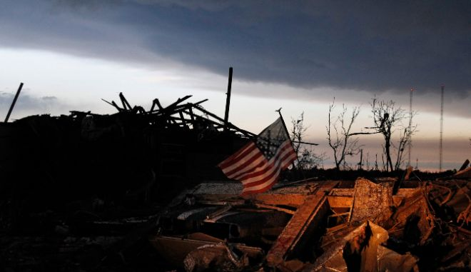 ΗΠΑ: Ανεμοστρόβιλος σάρωσε το Μισισίπι - Καταστροφές σε κτήρια και σπίτια