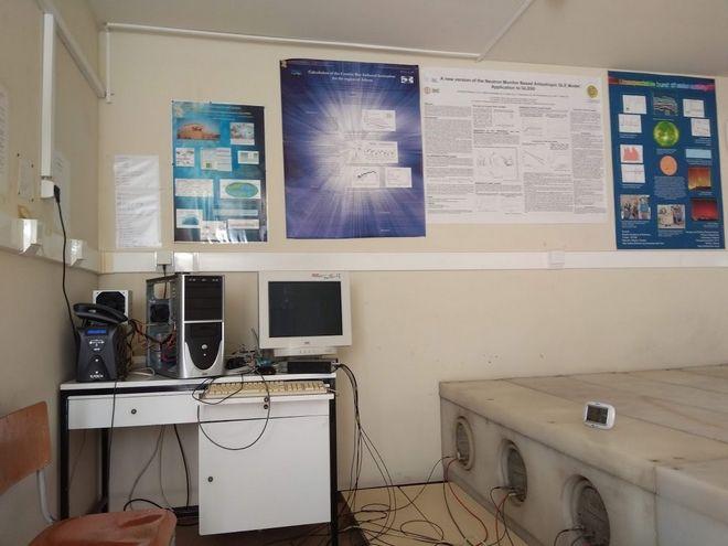 Από τις εγκαταστάσεις του Κέντρου Διαστημικού Καιρού στο ΕΚΠΑ