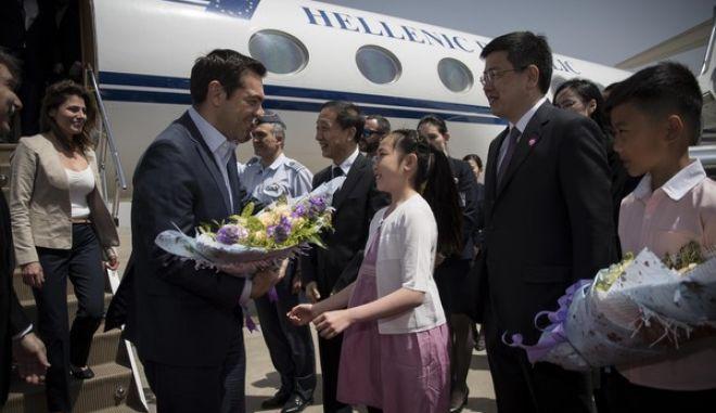 Επίσκεψη του Πρωθυπουργού Αλέξη Τσίπρα στην Κίνα