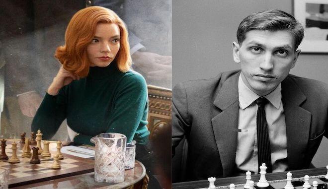 The Queen's Gambit: Η Μπεθ Χάρμον είναι ο... Μπόμπι Φίσερ