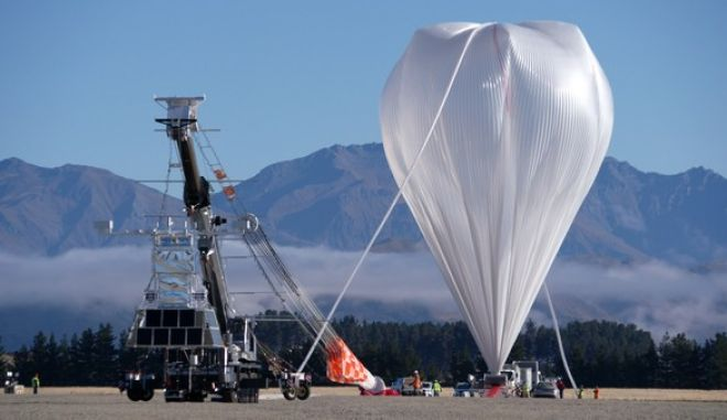 NASA: Εκτόξευσε μπαλόνι παρατήρησης κοσμικών μικροσωματιδίων