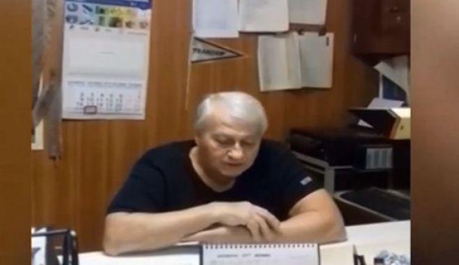 Ο Γιώργος Μπουγιούκας