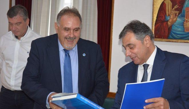 Μνημόνιο Συνεργασίας του Επιμελητηρίου Πειραιά με ελληνική εταιρεία logistics