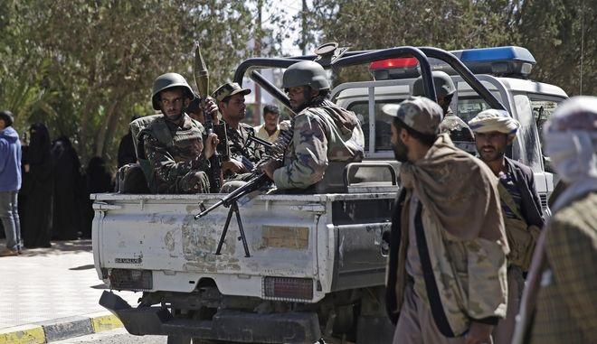 Στρατιώτες στην Υεμένη.