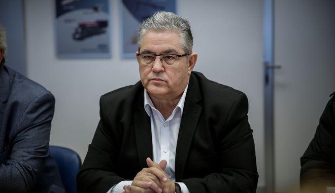 Ο γενικός γραμματέας της ΚΕ του ΚΚΕ Δημήτρης Κουτσούμπας