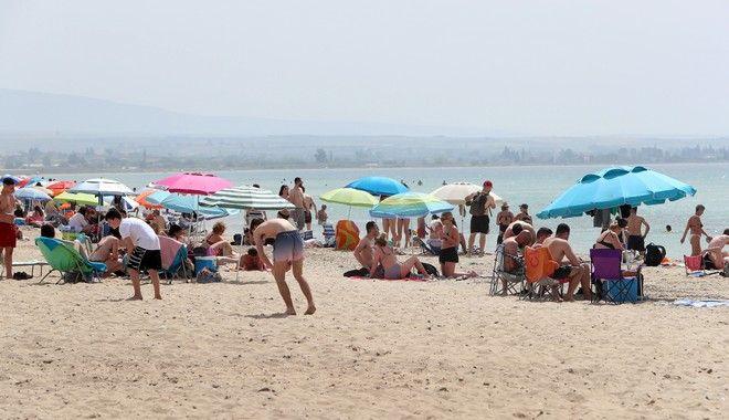Εικόνες από την παραλία