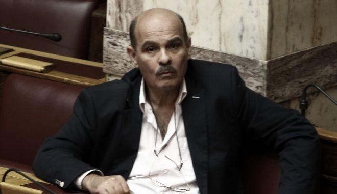 Ο βουλευτής Γιάννης Μιχελογιαννάκης (EUROKINISSI/ΓΙΩΡΓΟΣ ΚΟΝΤΑΡΙΝΗΣ)