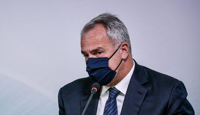 Ο υπουργός Εσωτερικών Μάκης Βορίδης
