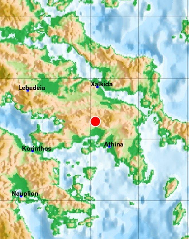 Σεισμός στην Πάρνηθα