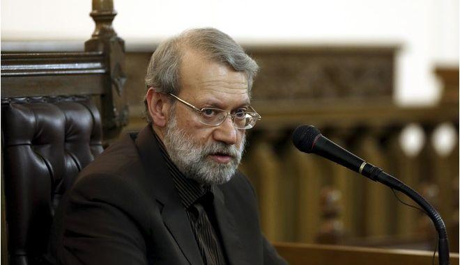 Ο πρόεδρος του κοινοβουλίου του Ιράν Αλί Λαριτζανί
