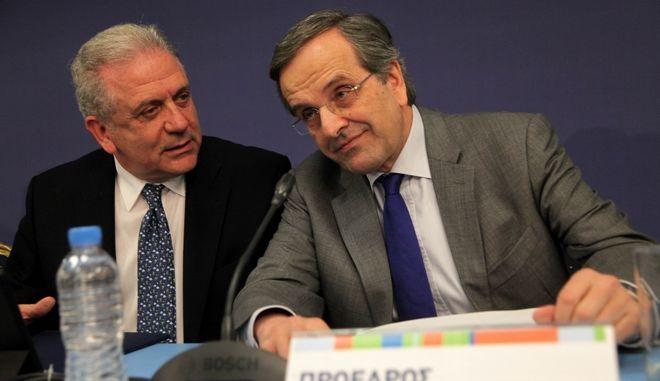 Συνεδρίαση της Πολιτικής Επιτροπής της Νέας Δαημοκρατίας την Κυριακή 8 Μαρτίου 2015. (EUROKINISSI/ΓΙΑΝΝΗΣ ΠΑΝΑΓΟΠΟΥΛΟΣ)