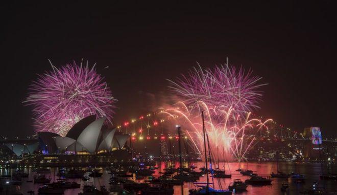 Εορτασμοί για την Πρωτοχρονιά στο Σίδνεϊ