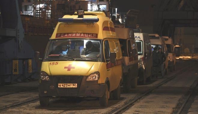 Ασθενοφόρο - Ουκρανία