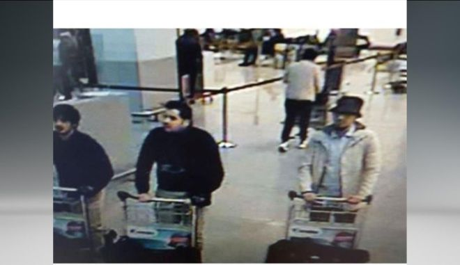 Βρυξέλλες: Βίντεο του τρίτου υπόπτου για τις επιθέσεις στο αεροδρόμιο