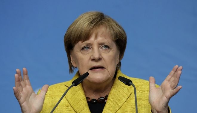 Εκλογές στη Γερμανία δείχνει και η Μέρκελ