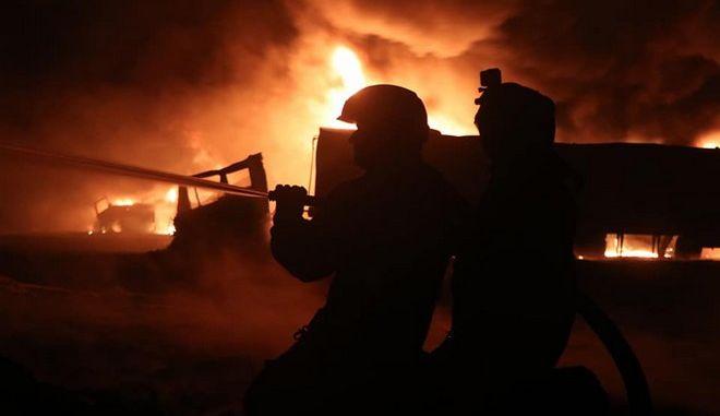 Στρατιώτες στη Συρία (φωτογραφία αρχείου)