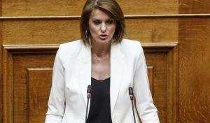 Η Κατερίνα Μάρκου εισηγήτρια της ΝΔ στο νομοσχέδιο του υπουργείου Εργασίας και Κοινωνικής Αλληλεγγύης με τα «μέτρα για την προώθηση των θεσμών της αναδοχής και υιοθεσίας».
