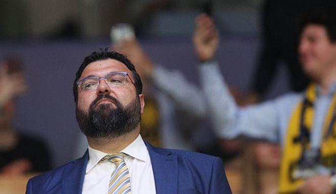 Ο υφυπουργός Αθλητισμού Γιώργος Βασιλειάδης