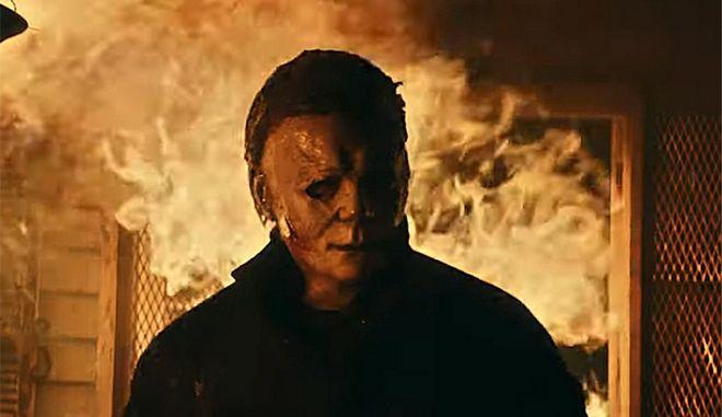 """Στιγμιότυπο από την ταινία """"Halloween Kills"""""""