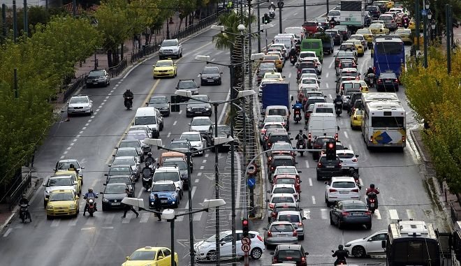 Τέλη κυκλοφορίας για τα αυτοκίνητα