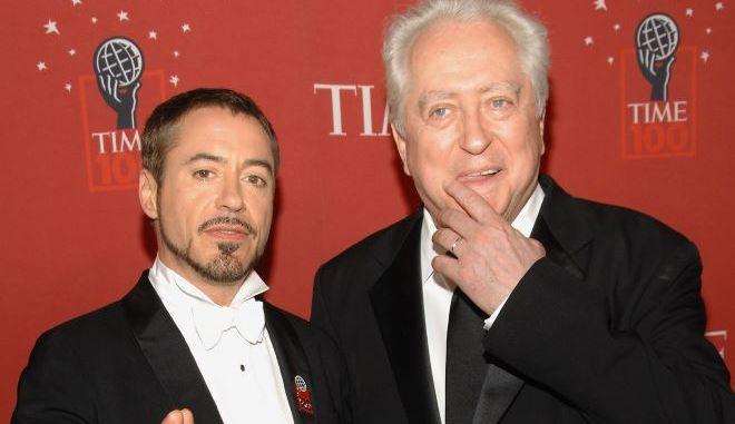 Ο Robert Downey Sr με τον γιό του Robert Downey Jr.