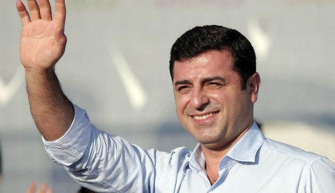 O ηγέτης του HDP, Σελαχαντίν Ντεμιρτάς